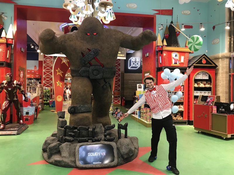 布拉格親子同遊第五站:Hamleys玩具店