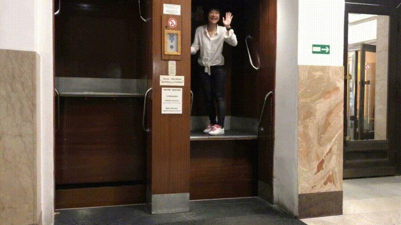 布拉格親子同遊第三站:Paternoster循環電梯