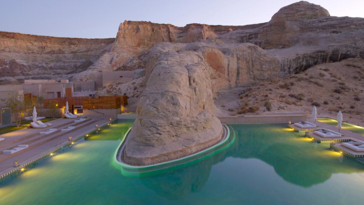 Amangiri──峽谷沙漠裡的絕美酒店  名人最愛的美國秘密景點