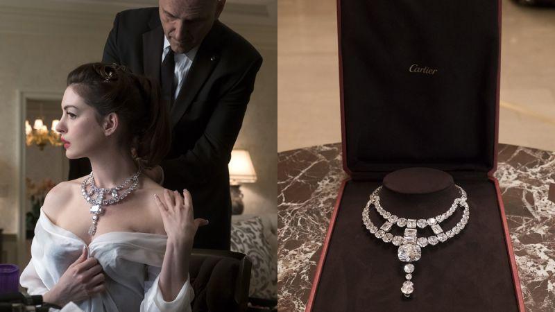 《瞞天過海:八面玲瓏》(2018年)由安海瑟薇飾演Daphne Kluger主演的一片,因應劇情中有偷竊珠寶與穿戴珠寶的橋段,Cartier特別為電影擔任獨家合作伙伴。其中,作為片中的終極偷竊目標,Cartier特別情商巴黎工坊匠師們複製一套Jeanne Toussaint項鍊骨董珠寶,此外,卡地亞紐約旗艦店亦成為電影中的主要場景之一。