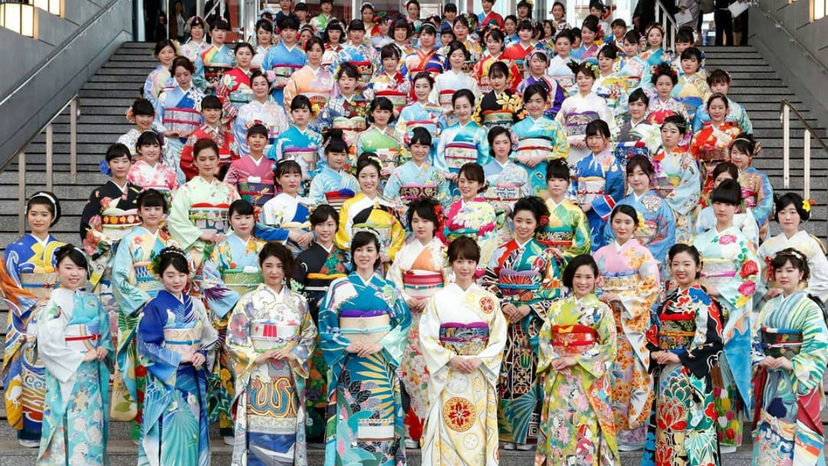 只有日本人能夠超越日本人!為迎接2020東京奧運,職人聯手打造196套國家特色和服~