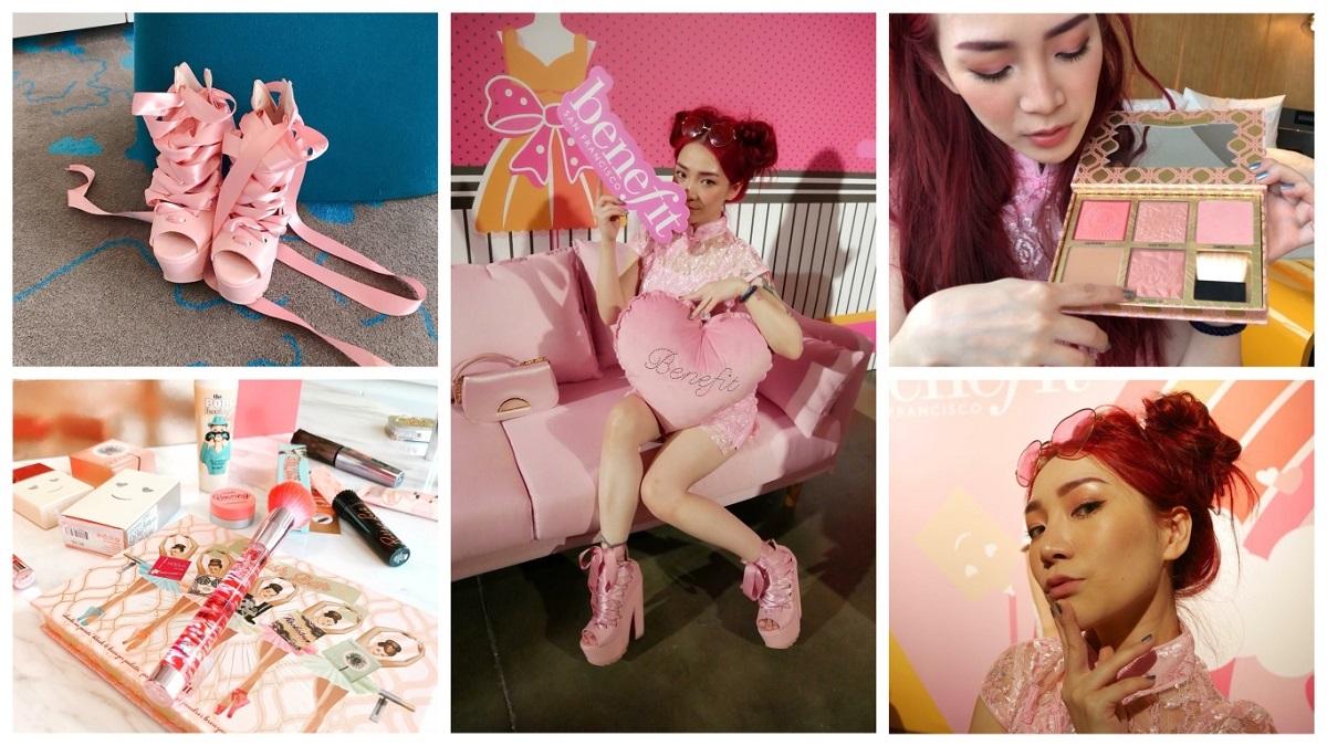 即使全身粉紅也不流俗!美妝部落客「少女人妻的粉紅玩具」教你實用又快速的Party變妝術
