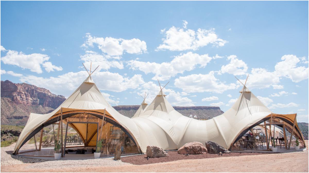 太美了!全世界最迷人的豪華野營就在 Under Canvas Zion