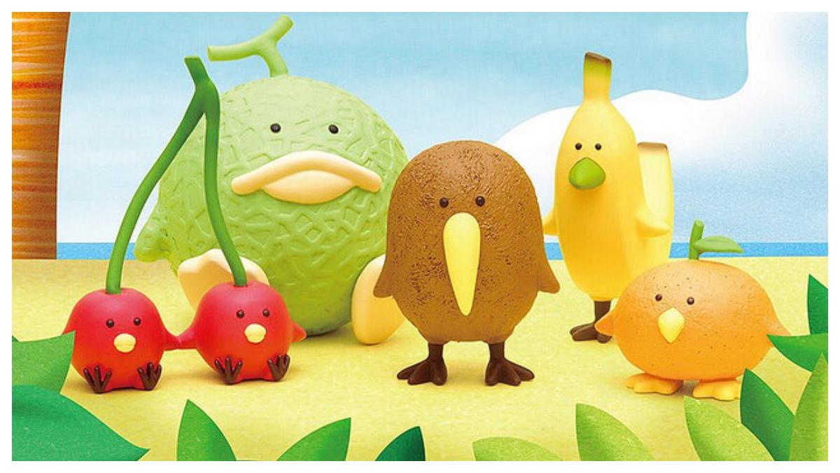 這也太可愛了吧!「熊貓之穴」全新療癒 MIX 企劃「熱帶水果鳥」,不可以把我們吃掉呦~