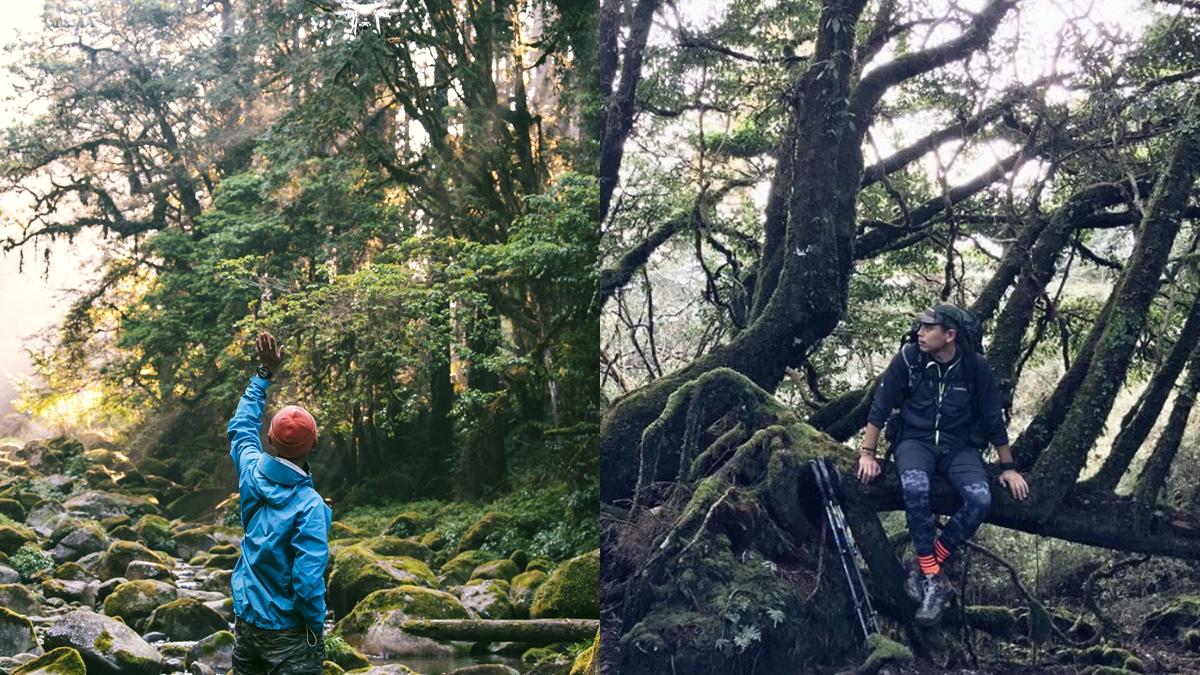 爬山是一種重開機的療癒!岳界型男Marc,「我很喜歡靜靜走在山裡面跟自己對話。」