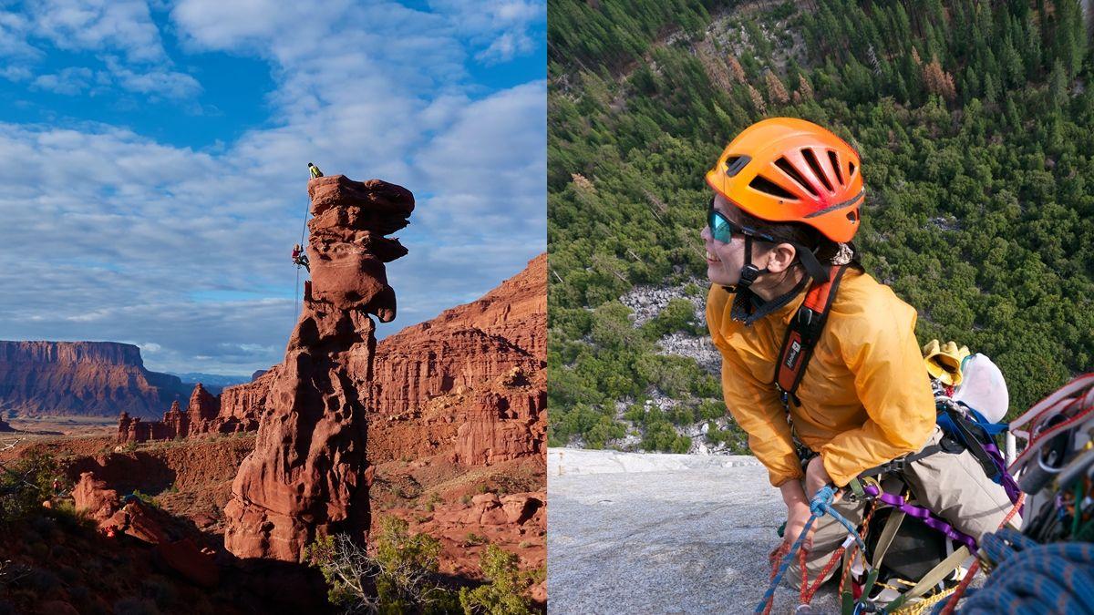 夏日達人帶路,一起在岩壁上跳舞!易思婷小Po,「如果你能走,一定可以攀岩。」
