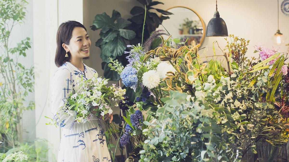【綠療力】嶺貴子  花草是日常中的小美好