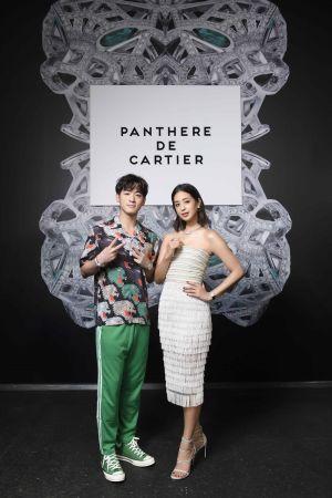 莫允雯、吳思賢聯手演繹卡地亞Panthere de Cartier美洲豹系列珠寶 展現卡地亞珠寶精巧工藝
