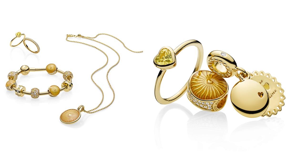 讓蜂蜜、陽光般的金色調灑落在手上!PANDORA SHINE系列全球首度新登場