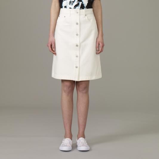 『KIM JONES GU PRODUCTION』_女裝前釦式牛仔裙_售價NT790