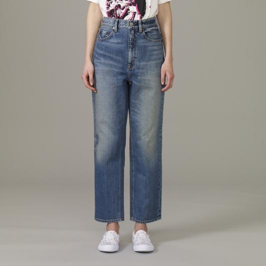 『KIM JONES GU PRODUCTION』_女裝regular直筒牛仔褲_售價NT1290
