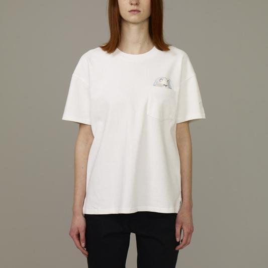 『KIM JONES GU PRODUCTION』_女裝印花T恤(短袖)_售價NT390