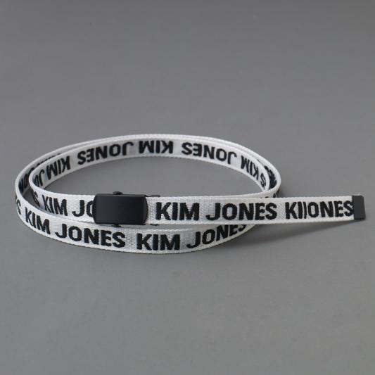 『KIM JONES GU PRODUCTION』_女裝窄版鐵扣腰帶_售價NT390