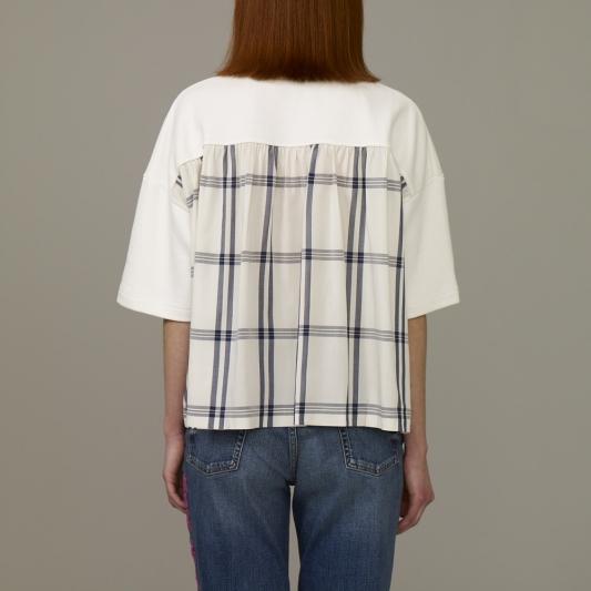 『KIM JONES GU PRODUCTION』_女裝拼接設計上衣(短袖)_售價NT790