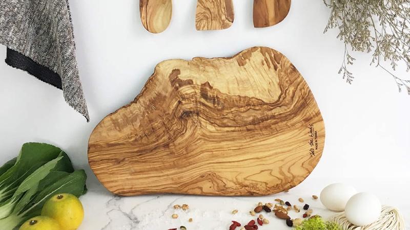 誠品生活expo|拜訪森林|橄欖木製食器