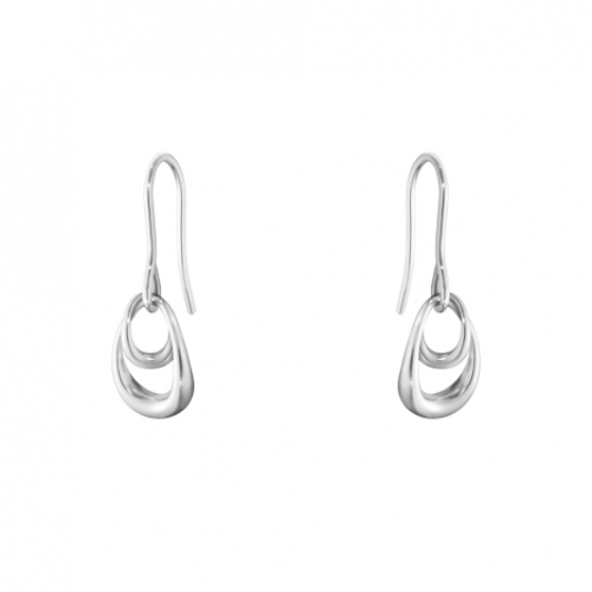 GEORG JENSEN_OFFSPRING,純銀耳環_建議售價NT4,800。