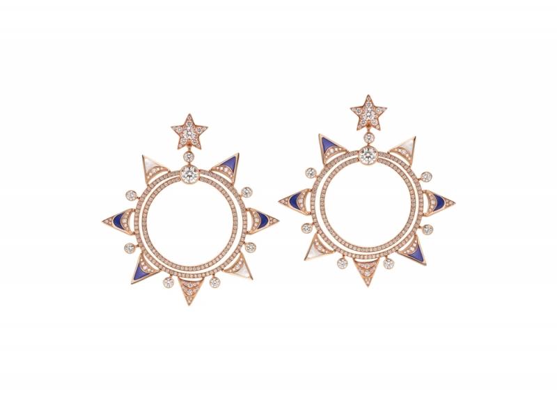 BVLGARI FESTA童年慶典系列The Gift 禮物造型頂級彩寶耳環(263113)