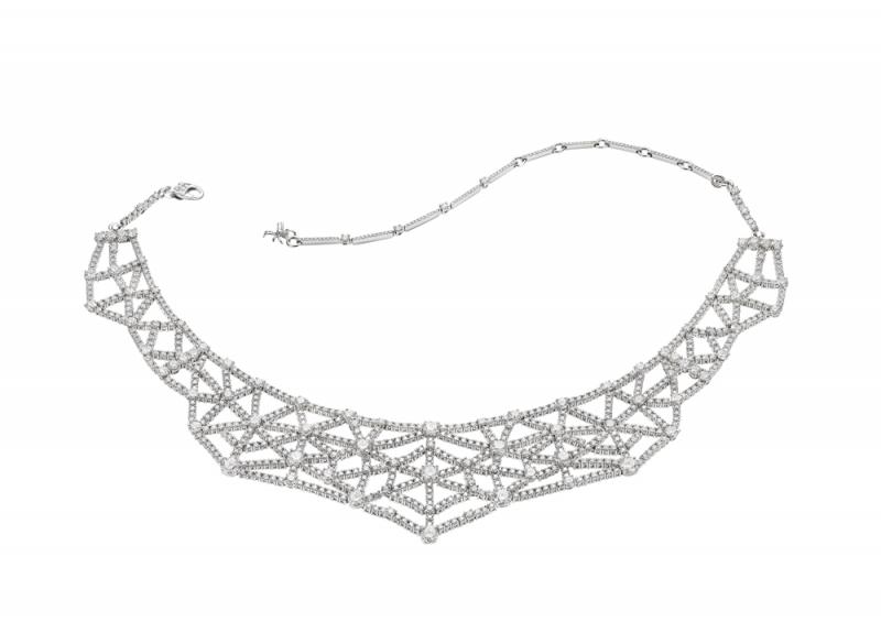 BVLGARI FESTA 義式慶典系列 Tarantella頂級鑽石項鍊,TWD11,971,000元(262585)