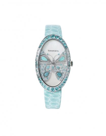 大中華地區Tiffany高級珠寶腕錶系列,Tiffany Cocktail 高級珠寶腕錶 – 蝴蝶NT$3,105,000