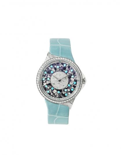 大中華地區Tiffany高級珠寶腕錶系列,Tiffany Metro 高級珠寶腕錶 – 瓷器 NT$2,415,000