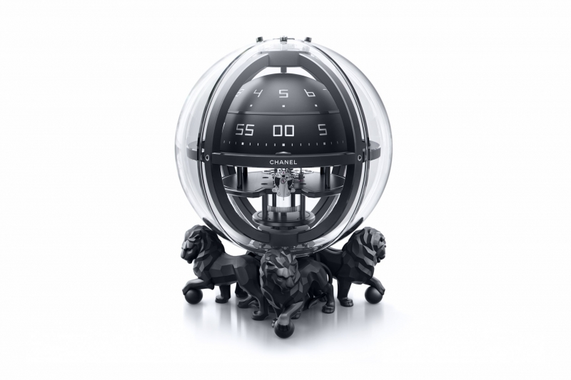 Monsieur Chronosphere Clock