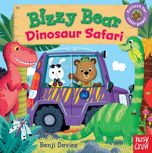 《Bizzy Bear, Dinosaur Safar》