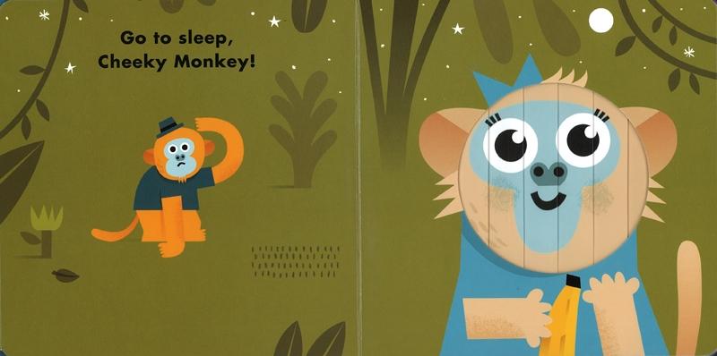 全球熱賣的Little Faces百葉窗變臉書,則是以百葉窗的設計,書中動物的表情隨著翻頁變化喜怒哀樂(1)。
