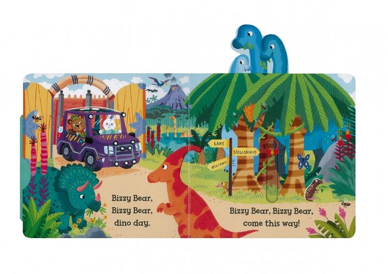 Bizzy Bear系列以翻拉式互動的書頁設計,讓孩子在閱讀過程中就像玩樂,享受與眾不同的閱讀體驗。