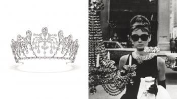 【編輯帶路】赫本風格的鑽石冠冕,帶你重返經過半世紀的優雅年代