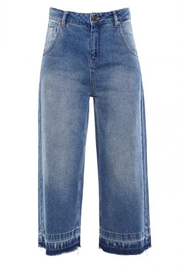不修邊丹寧寬褲,Cotélac,NT10,980。