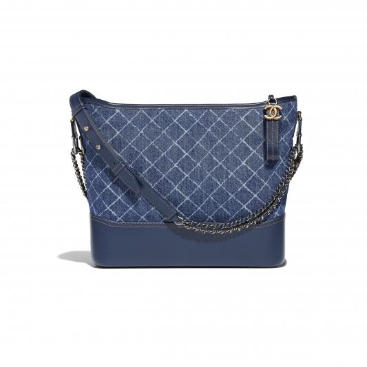皮革拼接丹寧鍊帶包,Chanel,NT133,500。