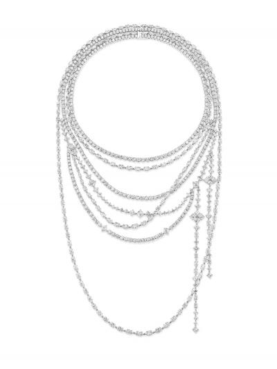 Secret系列頂級珠寶_Secret Combination鑽石項鍊_組合1
