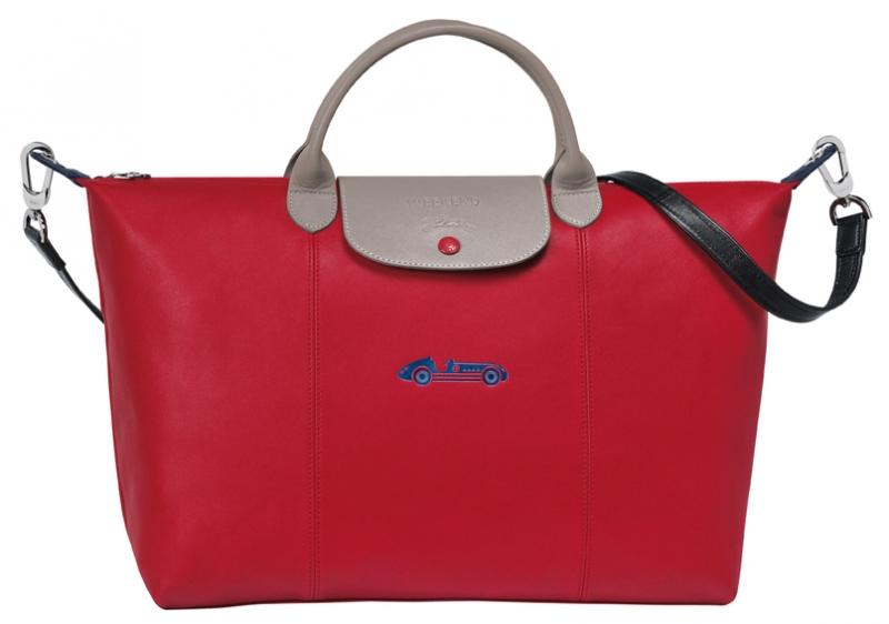 Le Pliage Cuir小羊皮訂製包款_大型手袋_參考售價NTD27,000