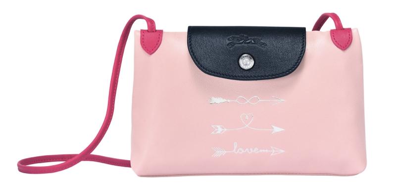 Longchamp Le Pliage摺疊訂製包_斜背小包_參考售價NTD10,600