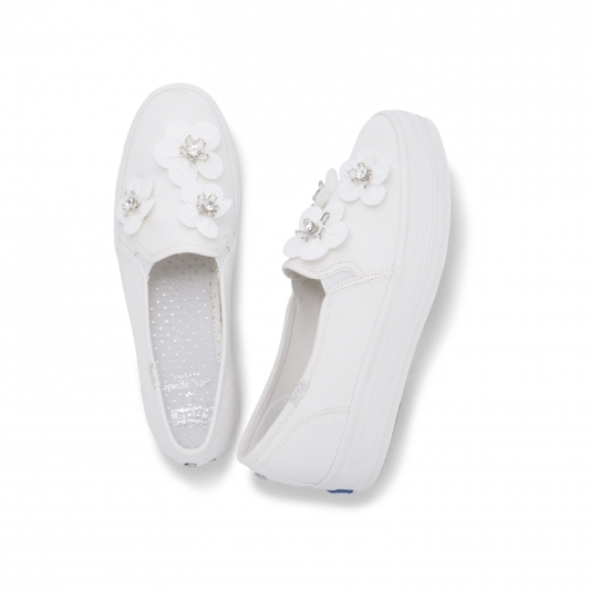 Keds X Kate Spade Bridal Collection- TRIPLE 帆布 NT3,290