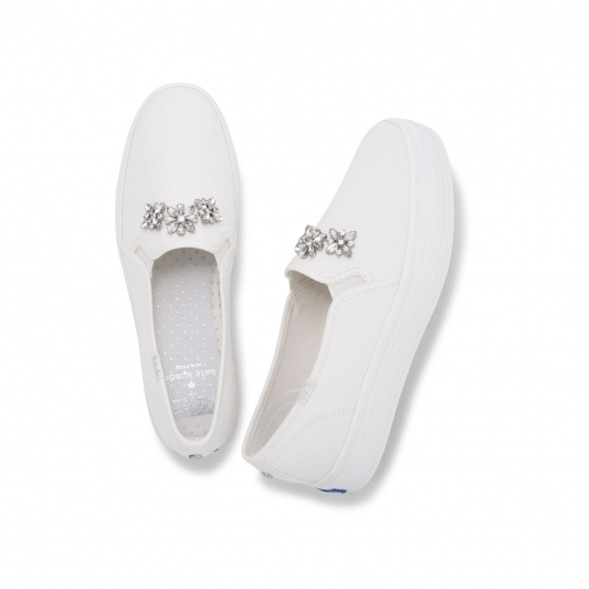 Keds X Kate Spade Bridal Collection- TRIPLE 斜紋布 NT3,290