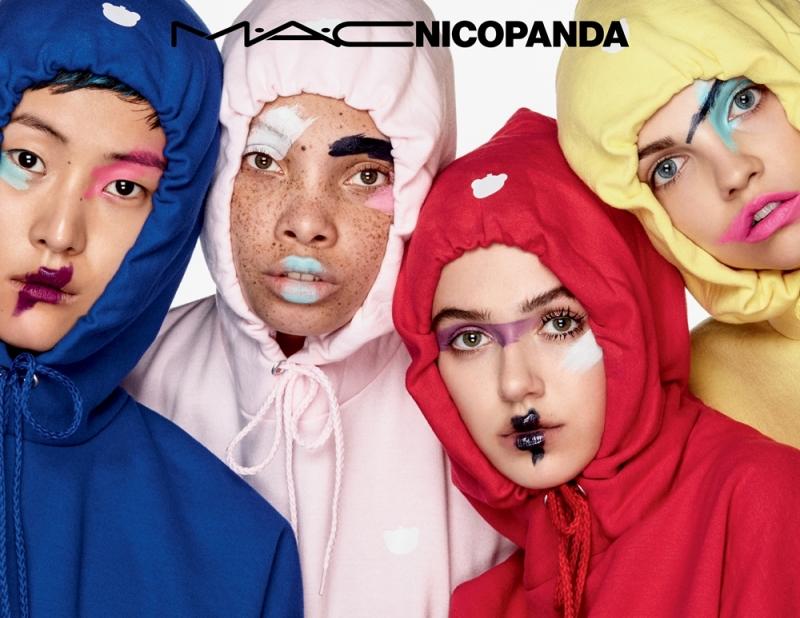 M.A.C X NICOPANDA設計師聯名系列形象圖