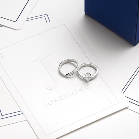 CHAUMET Josephine系列的設計靈感源自約瑟芬皇后,冠冕造型十分討喜,有顯眼華麗的Aigrette Imperiale,或是俐落而不失優雅的Aigrette單鑽戒指,中央水滴造型修飾效果非常好,價格則依照中央主石條件不同而有調整。