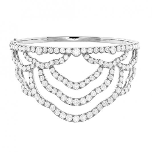 Lorelei鑽石手環_18K白金鑽石總重8.93ct_售價NT$767,000元起