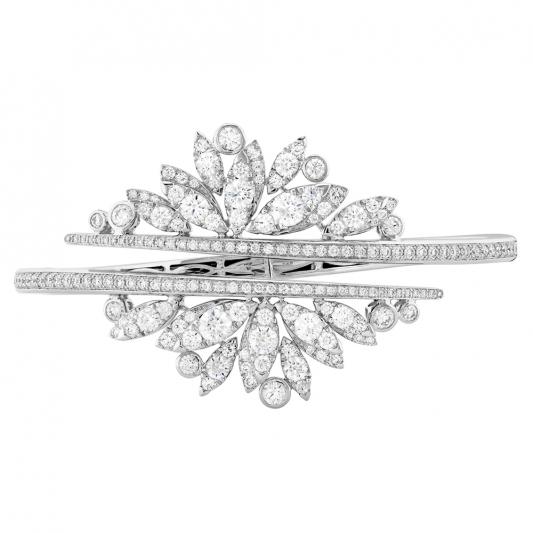WhiteKites鑽石手環_18K白金鑽石總重4.0克拉售價NT$1,050,000元起