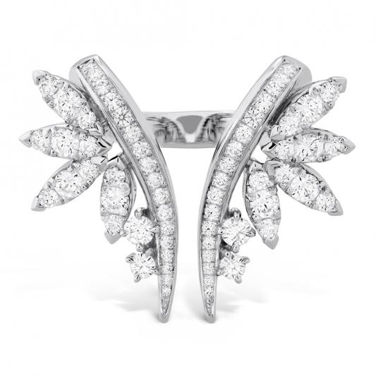 WhiteKites鑽石戒指_18K白金鑽石總重1.30ct_售價NT$290,000元起