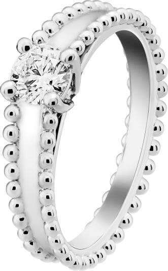 VCA Bridal -Estelle solitaire, platinum, 1 round diamond