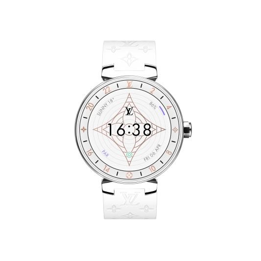 Tambour Horizon White_NT74,000(不含錶帶)。