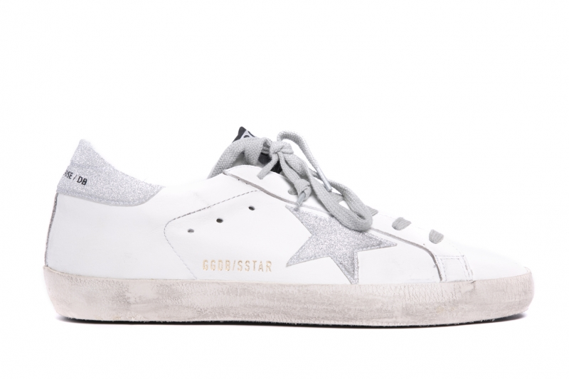 星砂皮革仿舊休閒鞋,Golden Goose Deluxe Brand by Minoshin,NT17,300。