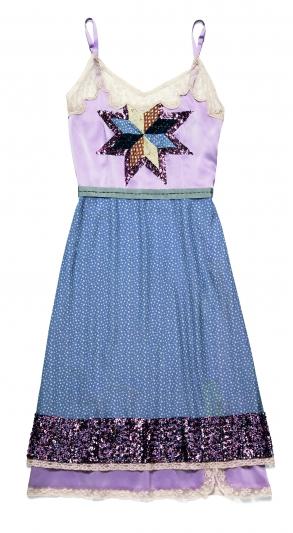 亮片裝飾拼接連衣裙,Coach,NT32,800。