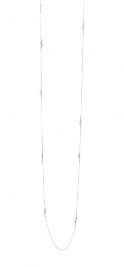 GEORG JENSEN_MAGIC 18K白金鑽石項鍊,NT86,200。