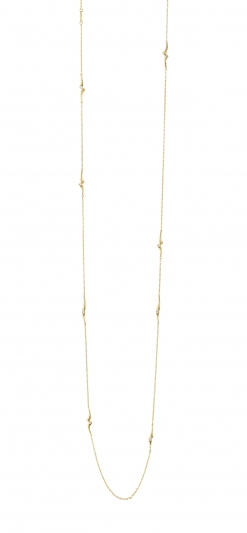 GEORG JENSEN_MAGIC 18K黃金鑽石項鍊,NT76,600。