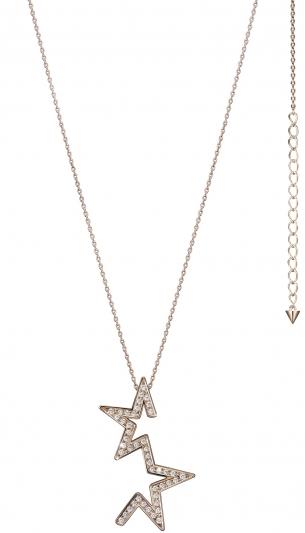 TASAKI abstract star 鑽石櫻花金項鍊_NT$189,000