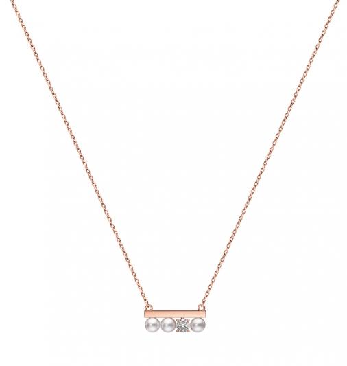 "TASAKI ""petit"" balance diamonds solo 鑽石珍珠櫻花金項鍊_NT$60,400"