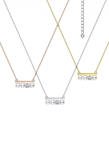 "TASAKI ""petit"" balance diamonds solo 鑽石珍珠項鍊_NT$60,400"